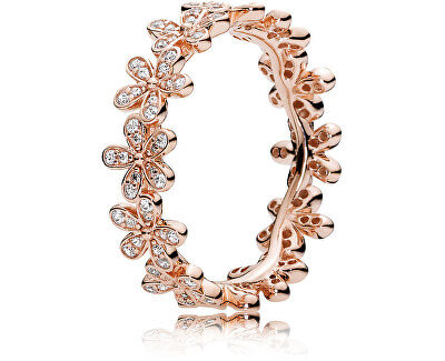 Bronzový sedmikráskový prsten 180934CZ