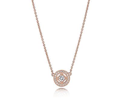 Luxusné bronzový náhrdelník 380523CZ-45