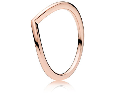 Minimalistický bronzový prsteň 186314