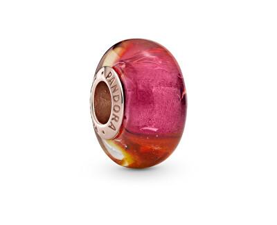 Skleněný bronzový korálek Rose 789440C00