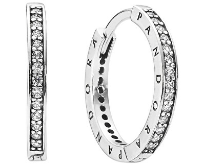 Cercei de argint cu cristale 290558CZ