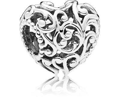 Strieborný korálik Kráľovské srdce 797672