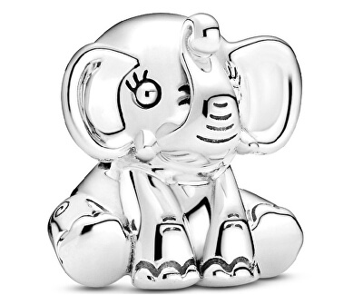Silber Perle Elefant 799088C00