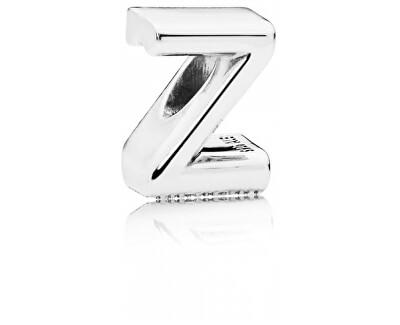 """Strieborný korálik """"Z"""" 797480"""