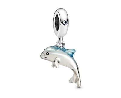 Stříbrný přívěsek Veselý delfín 798947C01