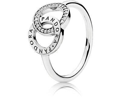 Strieborný prsteň 196326CZ