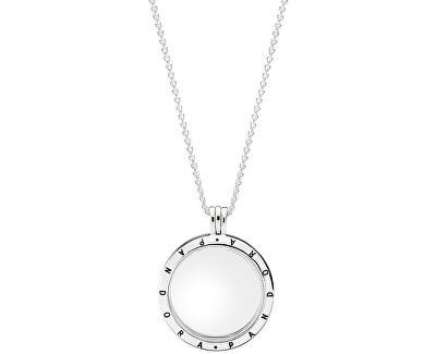 Stylový náhrdelník s medailonem 590530-75 (řetízek, přívěsek)
