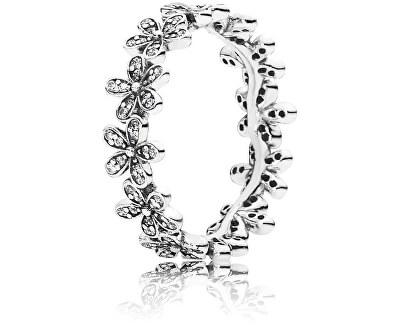 Trblietavý Sedmokráskový prsteň 190934CZ