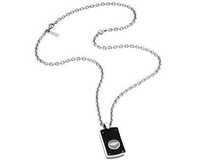 Pánsky náhrdelník Button Up PJ26195PSB / 01