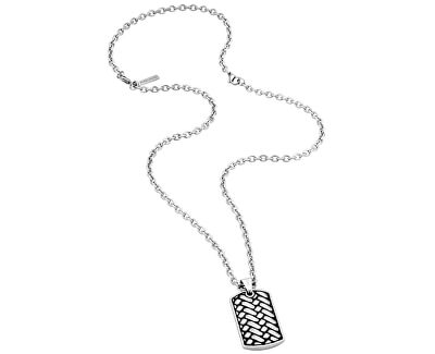 Pánsky náhrdelník Double Impact PJ26178PSS / 02