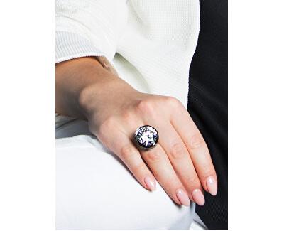 Inel de argint cu o stea Brilliant mare de cristal 5197 00