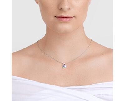 Designový stříbrný náhrdelník Aquila 6146 42 (řetízek, přívěsek)