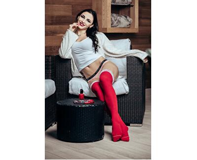 Elegantné náušnice Ines Matrix biele 6111 11