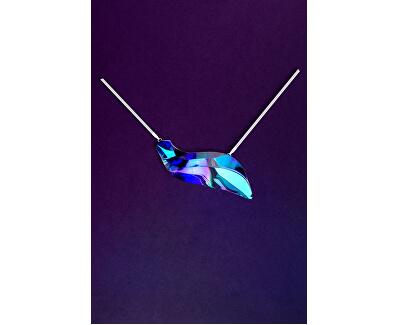Extravagantné strieborný náhrdelník Delphinus 7336 46
