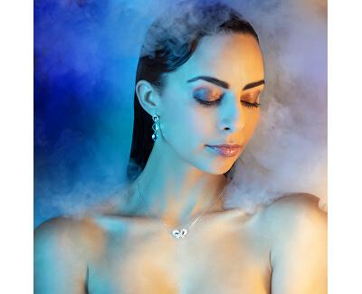 Luxusní stříbrné náušnice Devotion s českým křišťálem Preciosa 6148 00