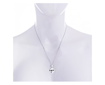 Náhrdelník Lil s čirými krystaly 6096 00