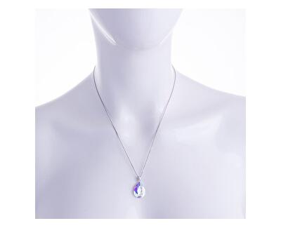 Colier din argint cu cristal Iris 6078 42