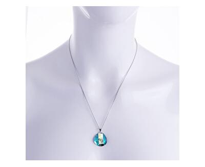 Silber Halskette mit Kristall Lovella 6067 51