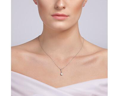 Colier de argint Tilia 5281 00 (lanț, pandantiv)