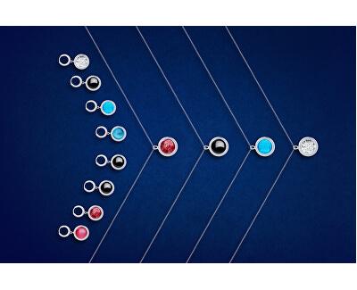 Unikátny strieborný náhrdelník Singularis Kombi 6116 70 (retiazka, prívesok)