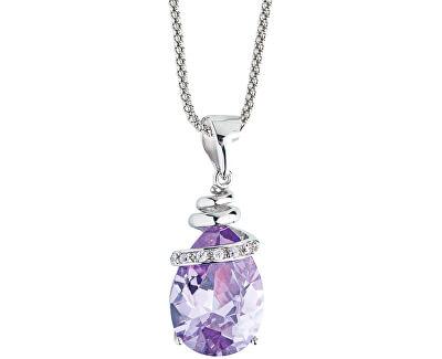 Náhrdelník Elegant Violet 5026 56 (řetízek, přívěsek)