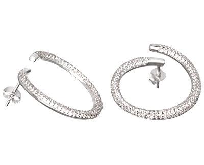 Cercei moda argint cu cristale Finespun 5200 00