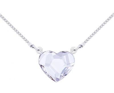 Halskette mit klarem Kristall Amore 2030 00