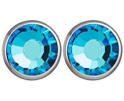 Cercei Carlyn cu Cristal Bermuda Blue 7235 46