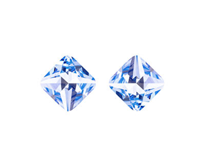 Cercei din cristal albastruOptica 6142 58