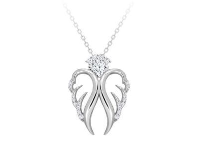 Colier delicat din argint Angelic speranță 5293 00