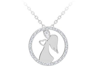 Colier delicat din argint Angelic Love 5295 00