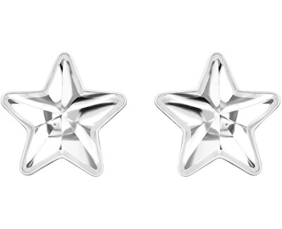 Oceľové náušnice s hviezdičkou Virgo 7343 00