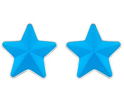 Oceľové náušnice s matnou hviezdičkou Virgo Akva 7343 77