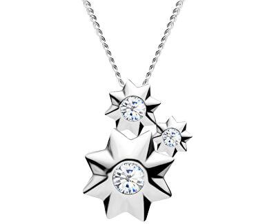 Roztomilý strieborný náhrdelník Orion 5245 00 (retiazka, prívesok)