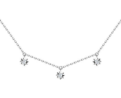 Roztomilý strieborný náhrdelník Orion 5250 00