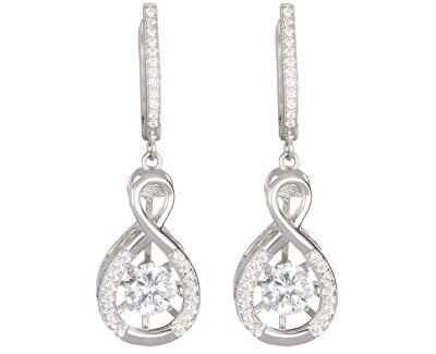 Cercei de argint cu cristale de precizie 5187 00