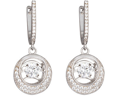 Cercei de argint cu pietre Shimmer 5185 00