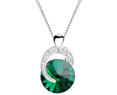 Strieborný náhrdelník Gentle Beauty 6766 66 (retiazka, prívesok)