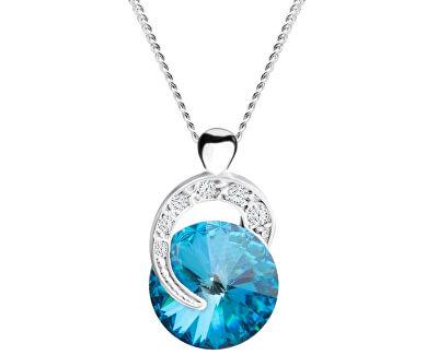 Strieborný náhrdelník Gentle Beauty 6766 46 (retiazka, prívesok)