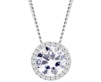 Strieborný náhrdelník Lynx 5268 00 (retiazka, prívesok)