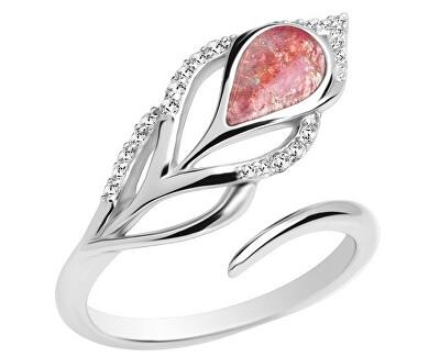 Strieborný prsteň Penna 6105 69