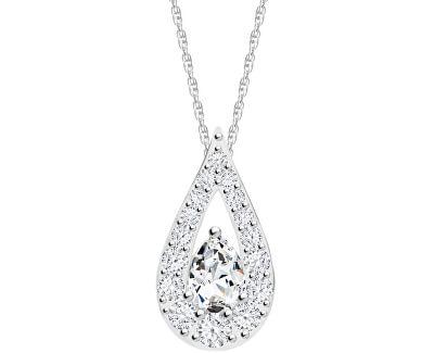 Trblietavý náhrdelník Libra 5242 00 (retiazka, prívesok)