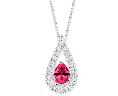 Trblietavý náhrdelník Libra 5242 55 (retiazka, prívesok)