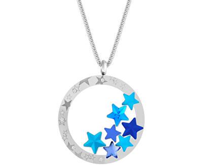Výrazný oceľový náhrdelník Virgo Akva 7340 67