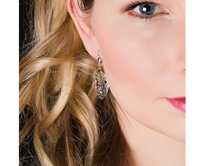 Elegantní stříbrné náušnice s krystaly NA0941_RH