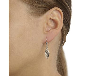 Fashion proplétané stříbrné náušnice NA0996_RH