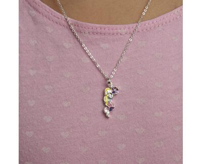 Schöne Mädchen Halskette Meerjungfrau KO8086_BR030_40 (Halskette, Anhänger)