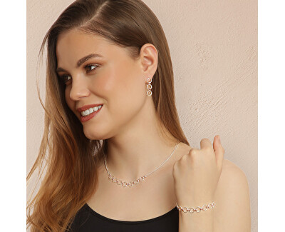 Luxusní bicolor náhrdelník ze stříbra Rimi N6495_RH
