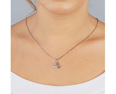 Marine Silber Halskette KO5156JP (Halskette, Anhänger)