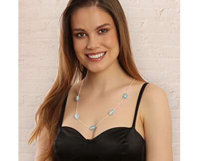 Originální stříbrný náhrdelník Magic sky N6423_RH